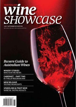 Wine Showcase magazine cover