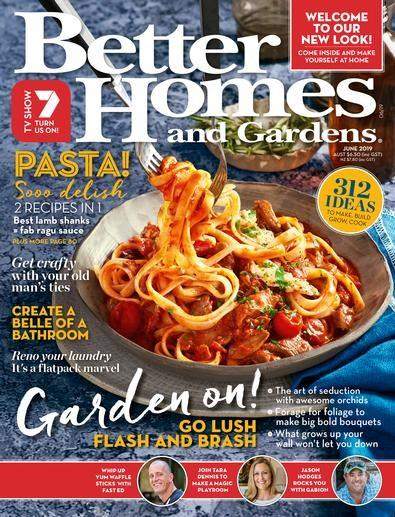 Better Homes & Gardens magazine cover
