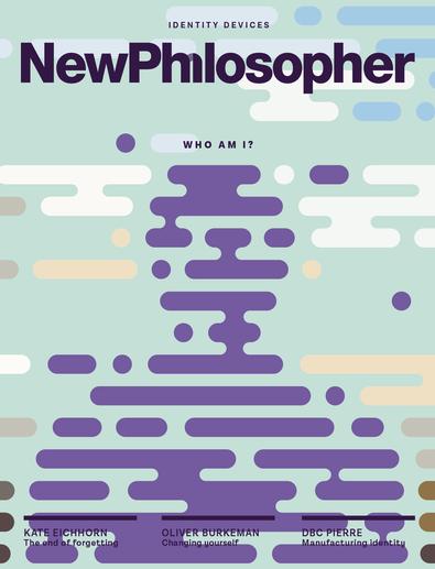 New Philosopher magazine cover