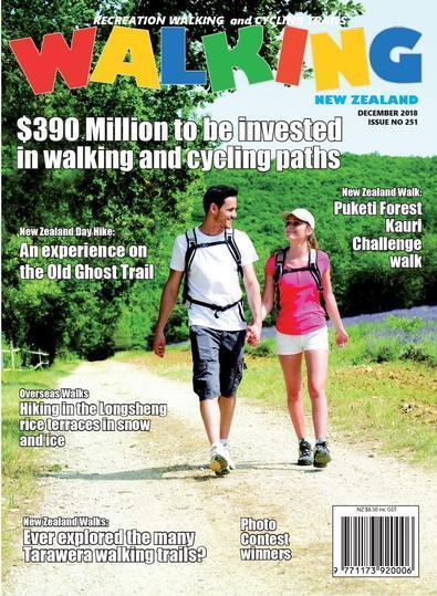 Walking New Zealand magazine cover