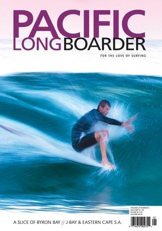 Pacific Longboarder Magazine cover