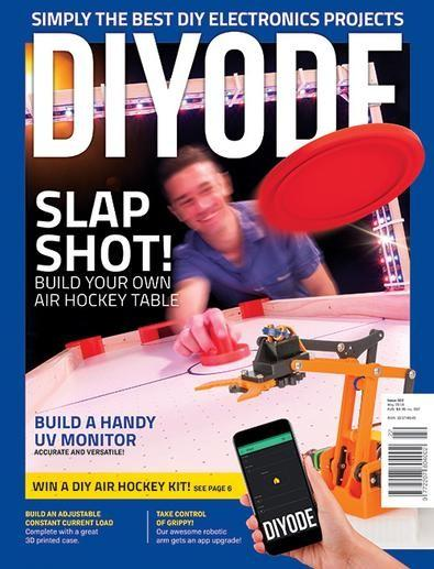 DIYODE magazine cover