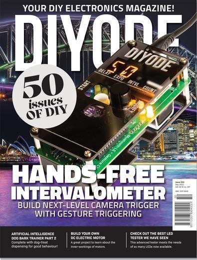 DIYODE magazine cover
