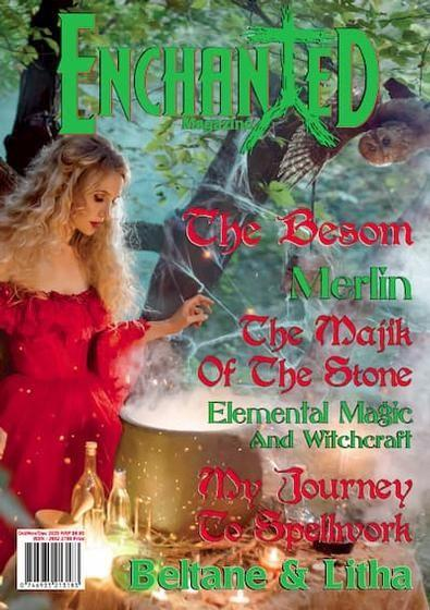 Enchanted (AU) magazine cover