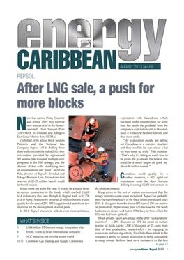 Energy Caribbean magazine cover