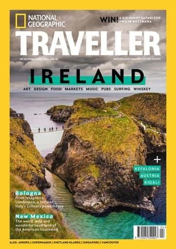 National Geographic Traveller UK magazine cover