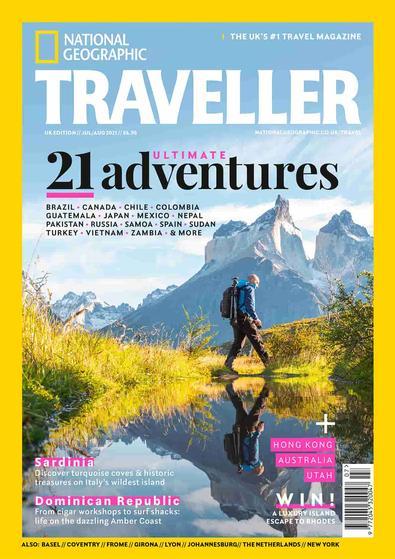 National Geographic Traveller UK magazine cover