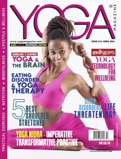 Yoga Magazine cover