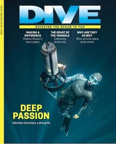 DIVE magazine cover