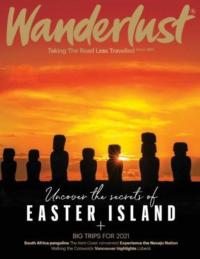 Wanderlust magazine cover