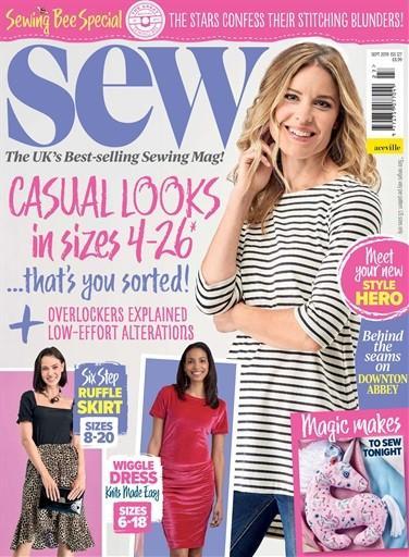 Sew magazine cover