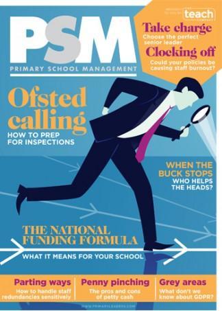 Primary School Management magazine cover