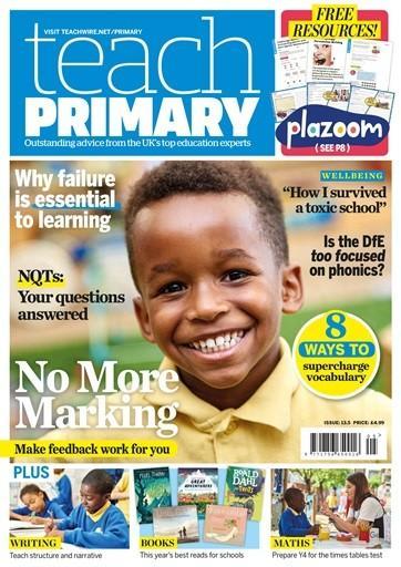 Teach Primary magazine cover