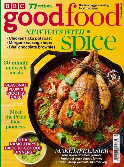 BBC Good Food magazine cover