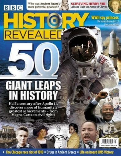 BBC History Revealed magazine cover