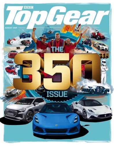 BBC Top Gear magazine cover