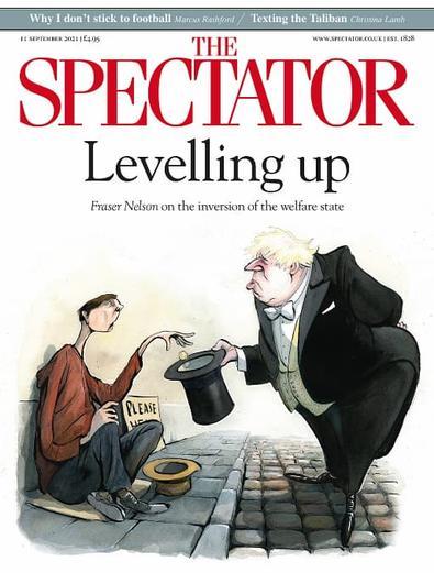 The Spectator magazine cover