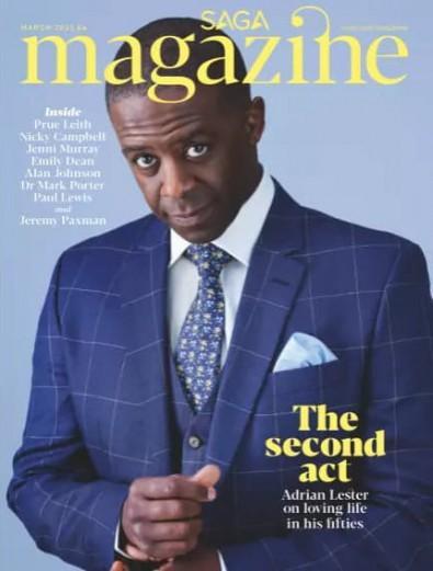 Saga Magazine cover