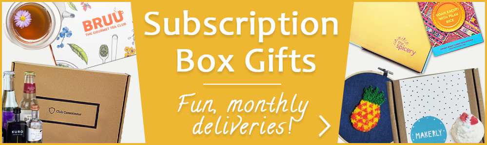 Subscription Boxes. Fun, monthly deliveries