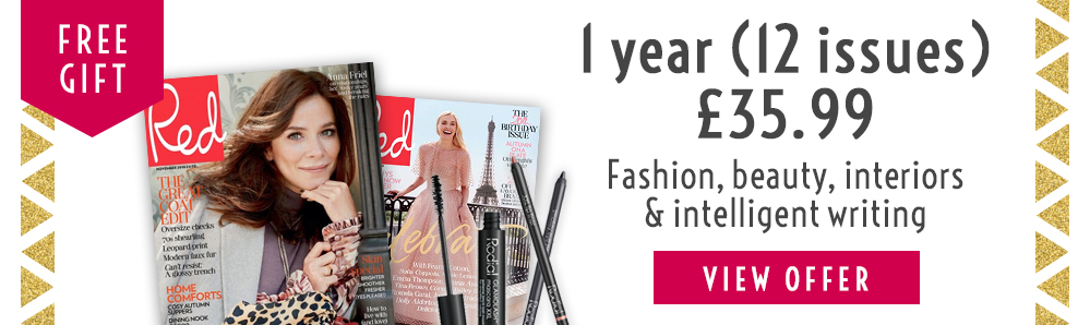 Red Magazine Subscription. 1 year for £38.99. Free Gift