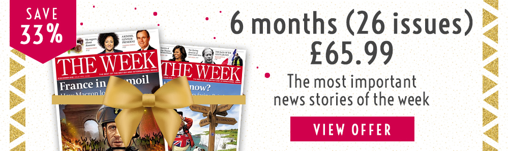 The Week Magazine Subscription. 6 months for £65.99. Save 33%