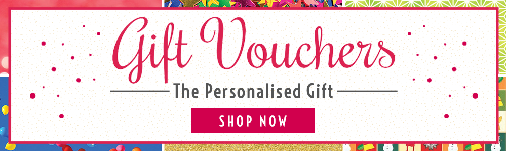 Gift Vouchers. The Personalised Gift. Shop Now