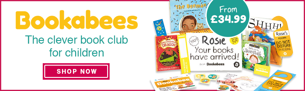 Bookabees Subscription Box from £34.99. The clever book club for children