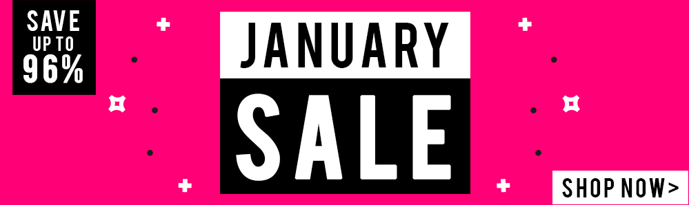 January Sale. Save up to 96%