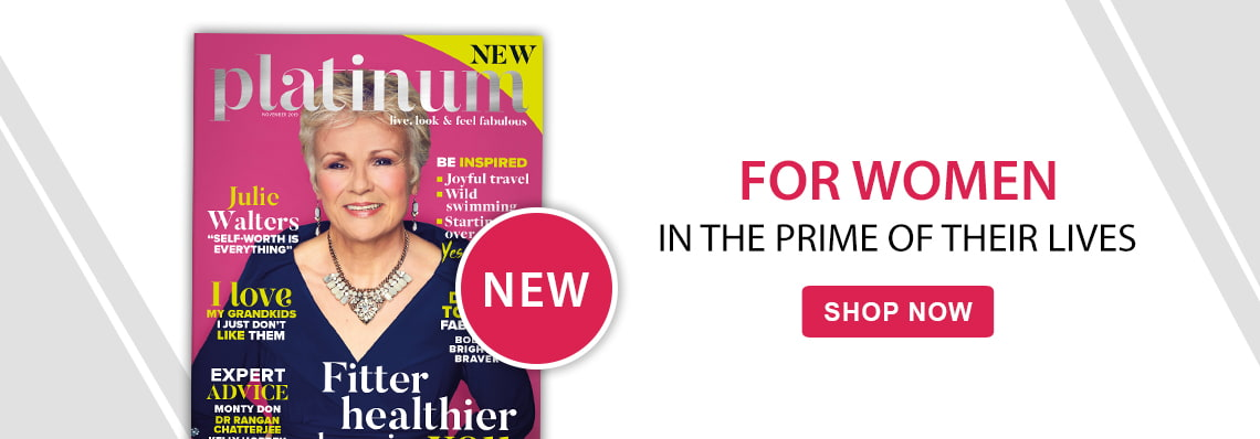 new platinum magazine for women in the prime of their lives