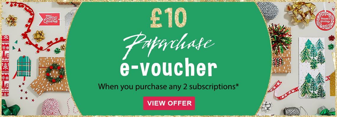 £10 Paperchase voucher with your order