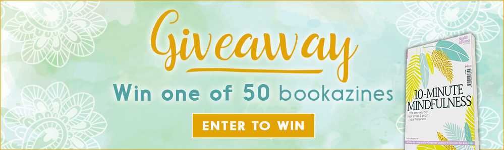 Giveaway. Win one of 50 bookazines