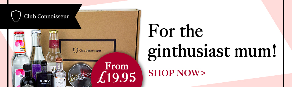 Club Connoisseur subscription Box. For the ginthusiast mum