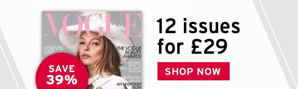 Vogue Magazine Subscription. 12 issues for £29. Save 39%