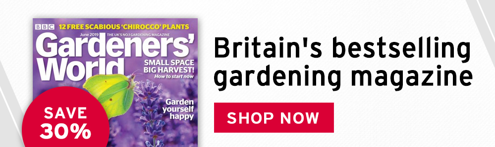BBC Gardeners World magazine subscription. Britain's bestselling gardening magazine.