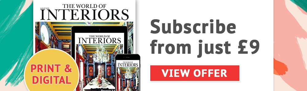 The World of Interiors magazine subscription. Subscribe from just £9