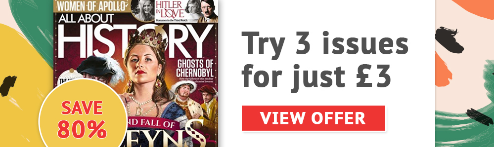 All About History Magazine Subscription. Try 3 issues for just £3