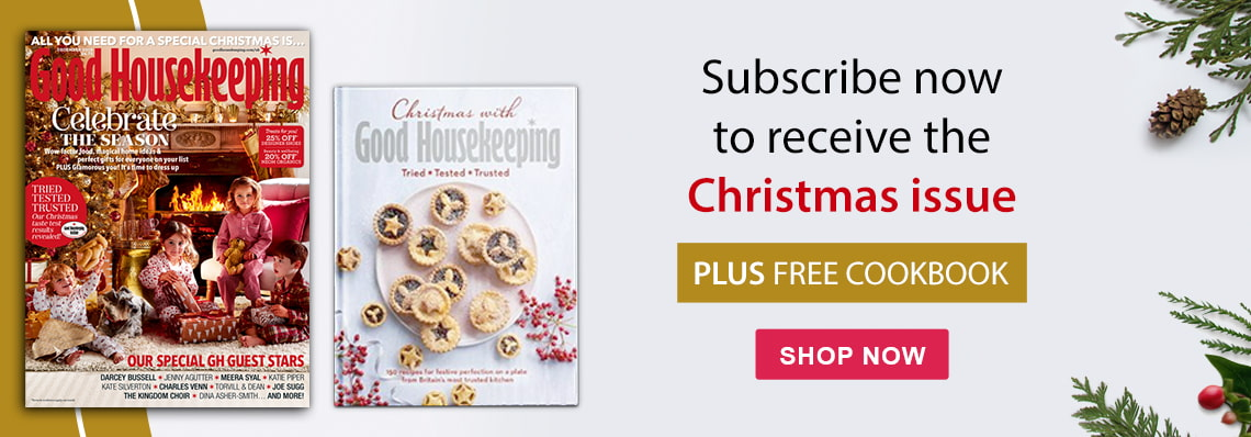 receive the good housekeeping christmas issue