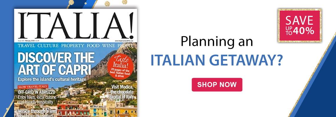 Save up to 40% on Italia magazine