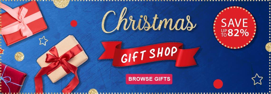 Christmas Gift Shop. Save up to 82%