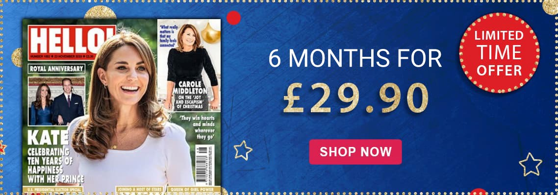 HELLO! 6 months for £29.90
