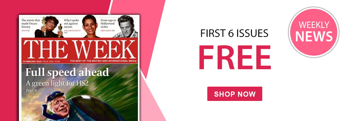 First 6 issues free with The Week magazine