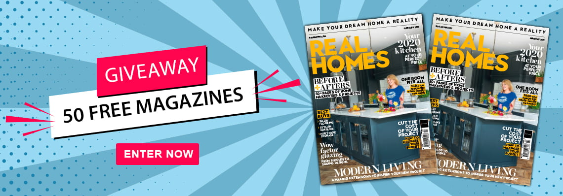 Real Homes giveaway - 50 free magazies!