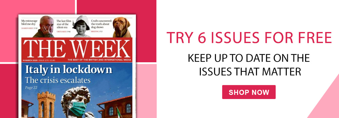 The Week magazine, try 6 issues free