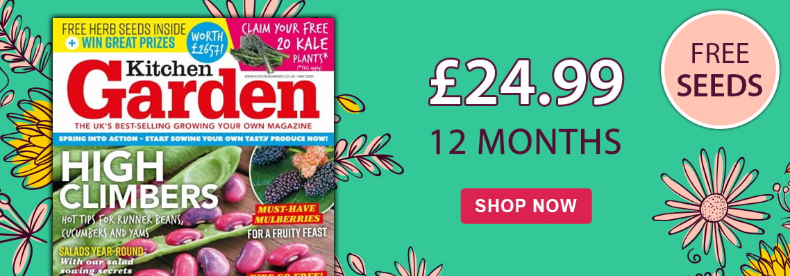free seeds with kitchen garden magazine
