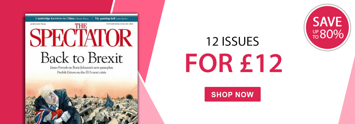 The Spectator 12 issues for £12