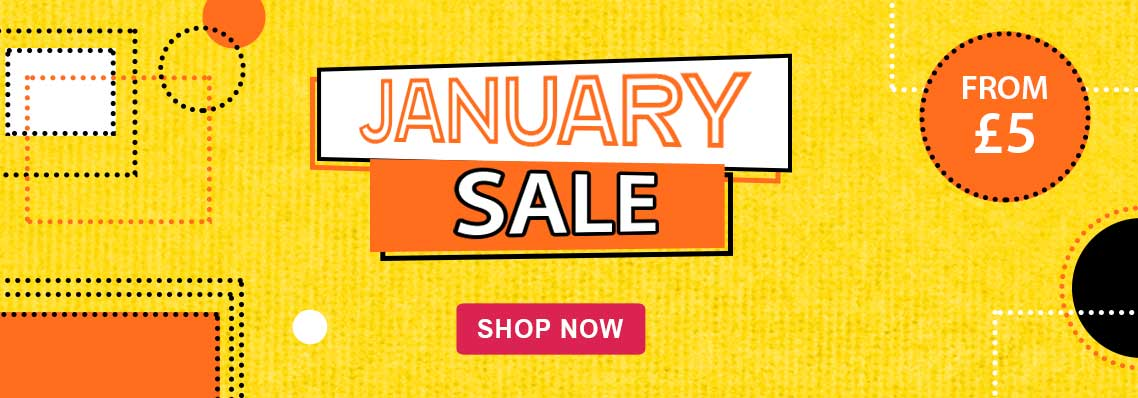 January sale from £5
