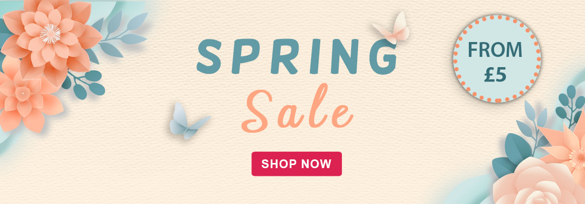 Spring sale from £5
