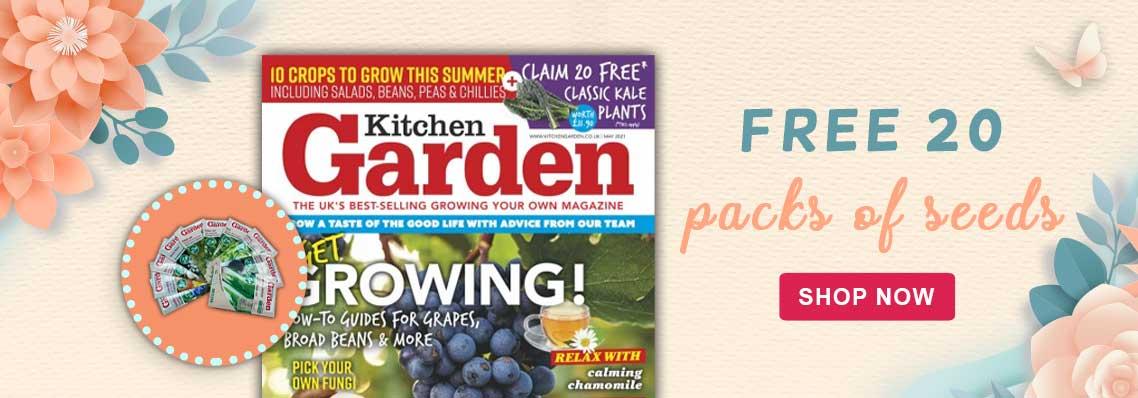 Kitchen Garden x20 Free seeds