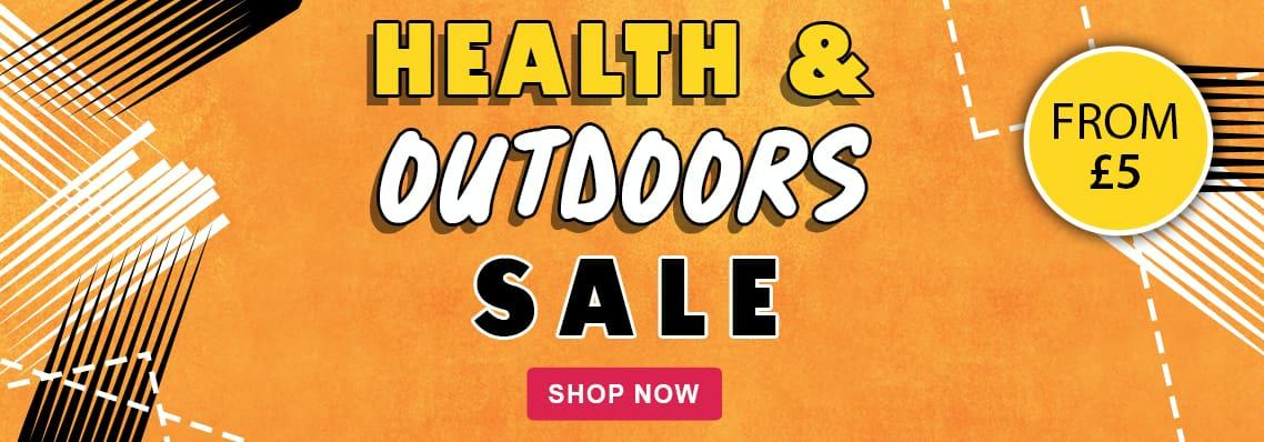 Health & Outdoors. Offers from £5